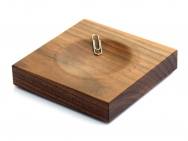 Wooden Paperclip Holder