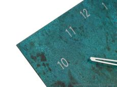 'Patinized' Brass Wall Clock