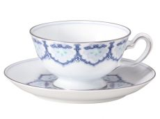 Hand-painted Cup & Saucer
