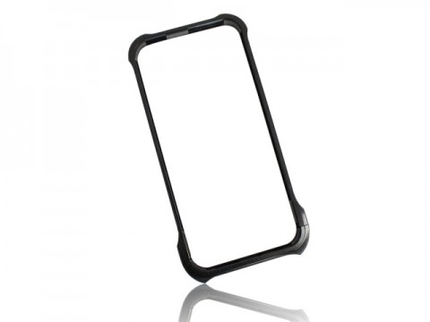 'Machined' iPhone 5/5s Case - Black