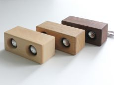 Double Wood Speaker
