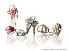 Stiletto Ring-tab Opener with SWAROVSKI [ALEXCIOUS ONLY]