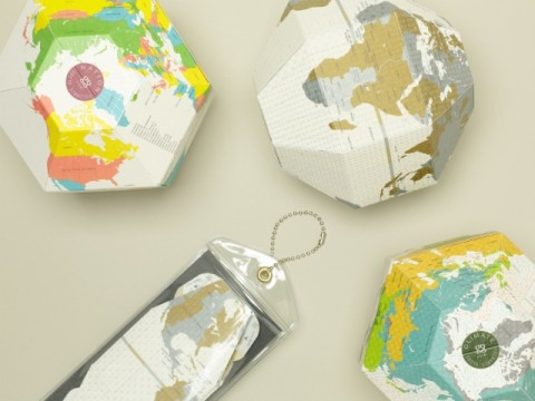 Pocket Earth: Foldable Globe [VOYAGE]