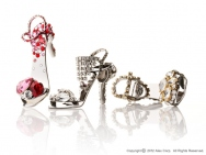 Stiletto Ring-tab Opener with Crystals [ALEXCIOUS ONLY]