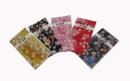 Set of 5, Chirimen wallet