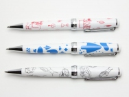 3 Artists + Ballpoint Pen by SAILOR