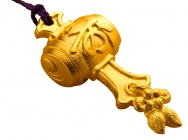 Pure Gold Ornament: Lucky Mallet