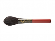 ROYAL KASHOEN Powder Brush Gold Leaf on Black x Red