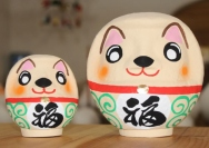 "[Dog for 2018]  ""Eto"" (Japanese Zodiac) Takasaki Daruma"