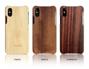 Wooden iPhone X Case/Cover