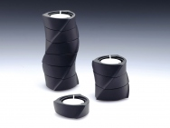 Helical Candle Holders (Set of 3)