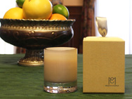 [Citrus Grace] 100% Natural Beeswax Aroma Candle 6.3 oz